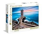 Clementoni-Los Pingüinos De Madagascar Puzzle 1000 Piezas El Faro (39334.3)