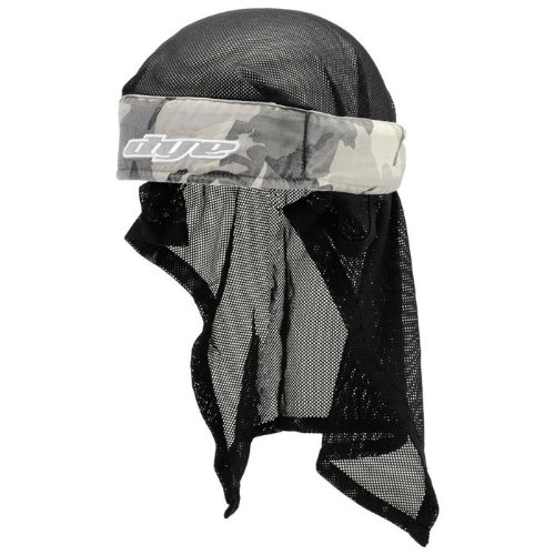 Dye Stirnband Head Wrap - Protecciones de Airsoft, Color Beige, Talla OneSize