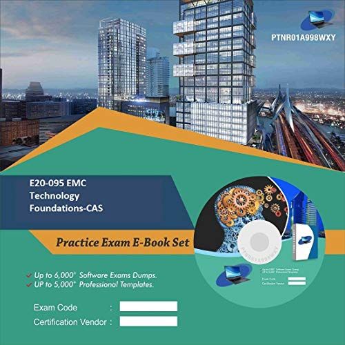 E20-095 EMC Technology Foundations-CAS Complete Video Learning Certification Exam Set (DVD)