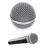 Rejilla quitavientos de repuesto para micrófono vocal Shure SM58, SM58LC, SM58SK, SM58S