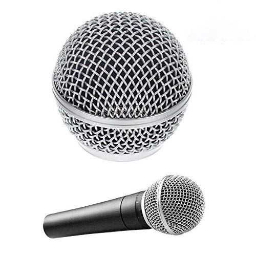 Vervanging Vocal Mic Microfoon Grille Voorruit voor Shure SM58 SM58LC SM58SK SM58S COD