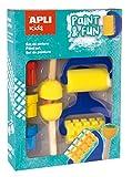 APLI Kids - Set de pintura con témperas, rodillos y sellos , color/modelo surtido