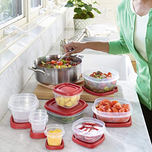Rubbermaid Easy Find Lids Food Storage and Organization Containers