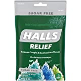 Halls Mentho-Lyptus Drops Assorted Mint 25 Each ( Pack of 12)
