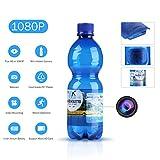 SANNCE 1080P HD Cámara oculta espía botella de agua(grabación de vídeo potable botella de movimiento cámara de seguridad...