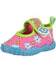 Playshoes Zapatillas de Playa con Protección UV Floral, Zapatos de Agua Niñas