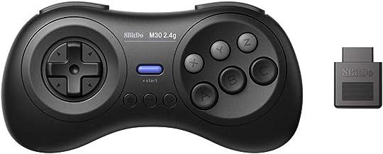 8BitDo M30 2.4G Manette de Jeu sans Fil pour Sega Genesis et Sega Mega Drive