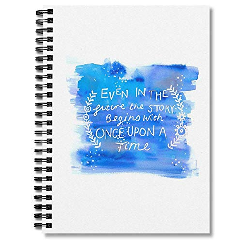 Spiral Notebook The Lunar Chronicles Space Quote Composition Notebooks Journal With Premium Thick Fishing Log Paper