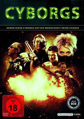 Cyborgs (10er-Schuber: Nemesis 1-4, Hologram Man, The Demolitionist, American Cyborg, Slinger (Cyborg), Die Klasse von 1999, Prototype X29A) [10 DVDs]