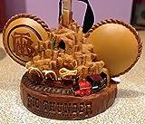 Parques de Disney Big Thunder Mountain Railroad Mickey Mouse oídos adorno de sombrero nuevo