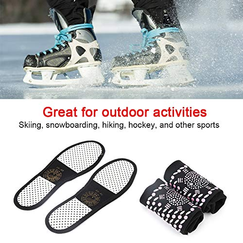 Jeffergarden Socken Schuhe Einlegesohle, Physiotherapie Selbsterhitzung Warme Socken Schuhe Einlegesohleneinsatz Fußpflege, Komforteinlegesohle