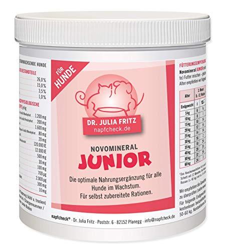 napfcheck Novomineral Junior - für Hunde im Wachstum - hypoallergen - 500 g