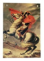 ポスター アルプス越えのナポレオン ジャック ルイ・ダヴィッド ナポレオン アルプス Bonaparte franchissant le Grand-Saint-Bernard MAJ01