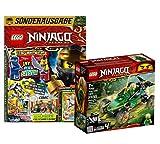 Lego Set Ninjago Lloyds 71700 + libro Lego Ninjago nº 12 (cómics, rompecabezas, cartón), incluye dos minifiguras
