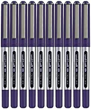 Uni-ball Eye Micro Ub-150 Gel Ink Pen - 0.5 Mm - 10 Pcs - Uni Mitsubishi Pencil (Blue) by Uni-ball