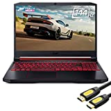 Acer Nitro 5 Gaming Laptop, 144Hz 15.6' FHD IPS, RTX 2060, Core i7-9750H 6-Core up to 4.50GHz, 32GB RAM, 1TB SSD, Killer Ethernet, Backlit KB, USB-C, AN515, Myrtix HDMI 2.0 Cable, Win 10
