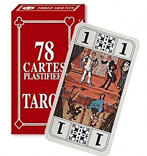 SoBazar - Jeu DE Tarot 78 Cartes A Jouer Notice