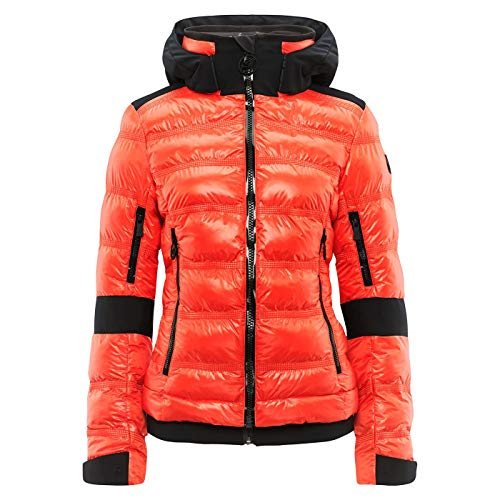 Toni Sailer W Tami Orange, Damen Isolationsjacke, Größe 40 - Farbe Zesty Orange