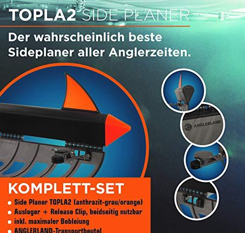 Schönheitsshop Anglerland Topla 2 Side Planer Der wahrscheinlich Beste Sideplaner Aller Anglerzeiten Trolling Planerboard