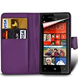Microsoft Lumia 950 Premium PU Leather Wallet Flip Skin