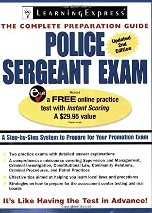 Police Sergeant Exam (Police Sergeant Exam (Learning Express)) by LearningExpress Editors (2007-03-20)