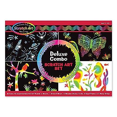 Melissa & Doug Scratch Art Deluxe Combo Set by Melissa & Doug