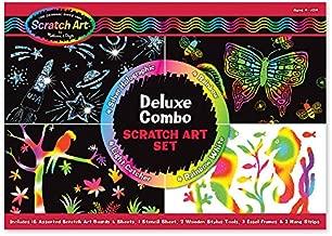 Melissa & Doug Scratch Art Deluxe Combo Set