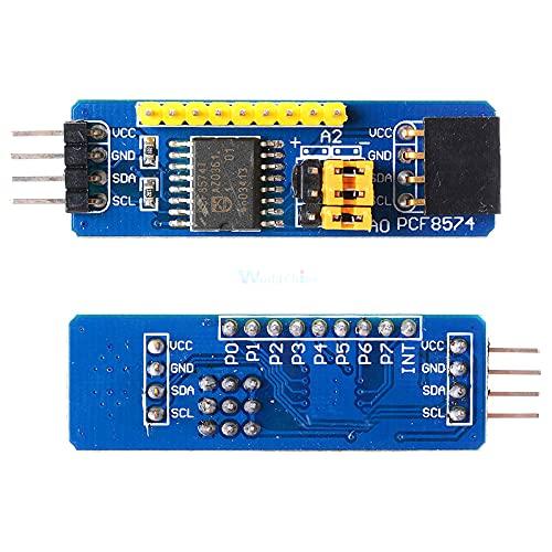 PCF8574 IO Expansion Board I/O Expander I2C-Bus Evaluation Development Module I2C Interface 8-bit Module for AVR STM8 C8051F