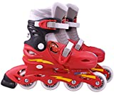 STAMP - DISNEY - CARS - J892302 - Vélo et Véhicule pour Enfant - Patins en Ligne Ajustable - Cars 2 - Taille 30-33