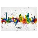 artboxONE Poster 30x20 cm Städte Dortmund Germany Skyline