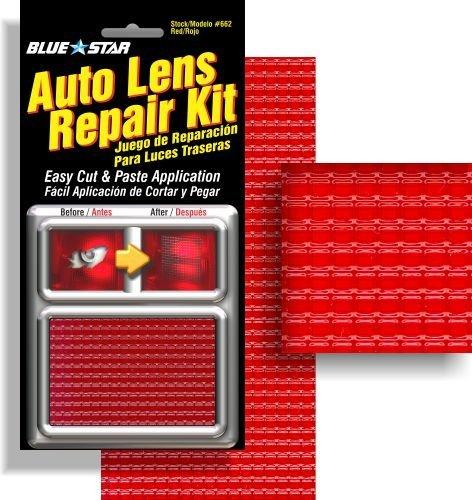 Blue Star Auto Brake Light / Tail Light Lens Repair Kit Red Color
