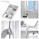 TROTEC AirLock 100 Impermeabilización de ventanas para aires acondicionados móviles Hot Air Stop/Aislamiento para ventanas (accesorio de climatizador)