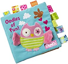 Shirazawa Children's Books Animal owl Soft Cloth Baby Intellectual Development Learning Picture Cognitive Animal Cloth Book owl Cotton Cloth is not Easy to Tear