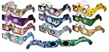 3D Christmas Glasses - Holiday Eyes (R) 22 pair variety pack - See Santa, Snowman, Reindeer, Candy Canes, Elves, and 2 Christmas/New Years Fireworks Glasses - all folded - ready to wear