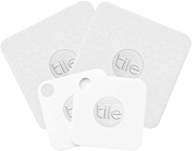 Tile Mate and Slim Combo Pack - Key Finder. Phone Finder. Anything Finder (2 Tile Mate and 2 Tile Slim) - 4 Pack