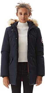 Women's Padded Jacket, Ladies Long Thicken Parka Faux Fur Down Alternative Winter Outwear Warm Overcoat