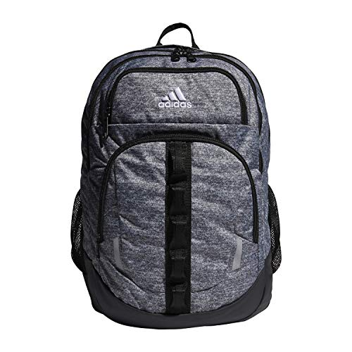 adidas Unisex Prime Backpack, Onix Jersey/ Black, ONE SIZE