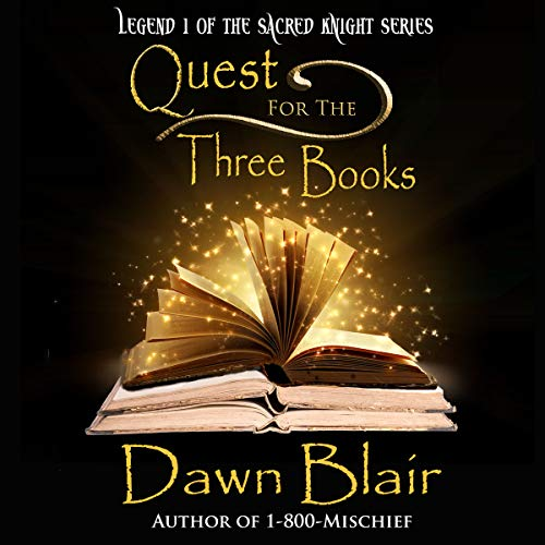 Quest for the Three Books audiobook cover art