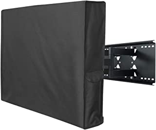 Porch Shield 52-55 inches Outdoor TV Cover Universal Weatherproof Protector for LCD, LED, Plasma Flat TV Screen, Compatible with Wall Mounts and Stands