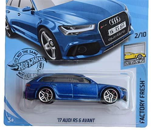 Hot Wheels Factory Fresh Series 2/10 '17 Audi RS 6 Avant 214/250, Blue