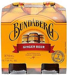 Bundaberg Ginger Beer, Pack of 4 x 375ml