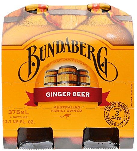 Bundaberg Ginger Beer, 12.7 Fl Oz (pack of 4)