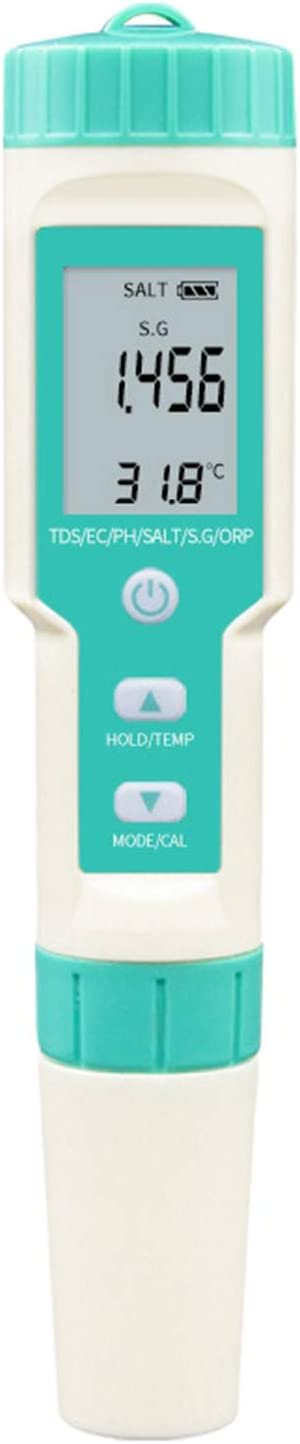Ranking TOP4 Baoblaze Digital Recommended Water Quality Tester PH Temp TDS SG ORP EC