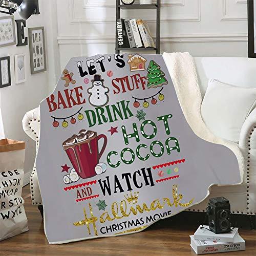 Knuffeldeken - pluizig zacht en aangenaam warme sprei deken, kantoor reisbureau sofa