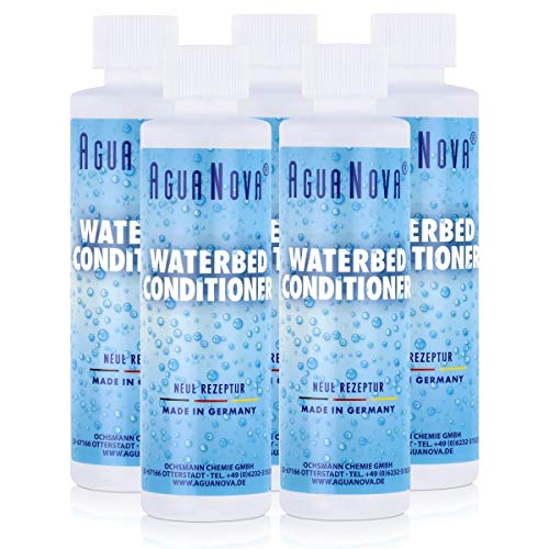 5x AguaNova Wasserbett Conditioner 250 ml, für Wasserbetten - Konditionierer