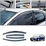 Deflettori Aria per F ORD Focus Hatchback/Sedan 2007-2011 Finestra Laterale in-Canale Ventvisor Antiturbo Antivento Visiera Laterale Acrilico 4PCS