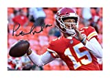 Engravia Digital Patrick Mahomes (4) NFL Kansas City Chiefs