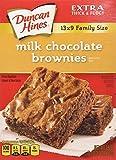 Duncan Hines Milk Chocolate Brownie Mix 510 g (Pack of 6)