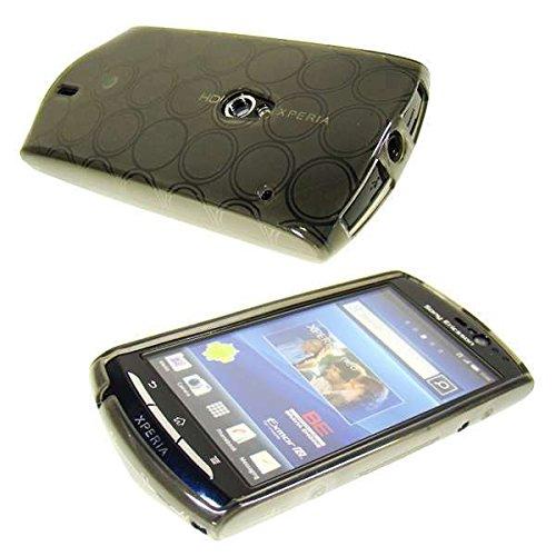 caseroxx TPU-Hülle für Sony Ericsson Xperia Neo/Neo V, Handy Hülle Tasche (TPU-Hülle in schwarz-transparent)