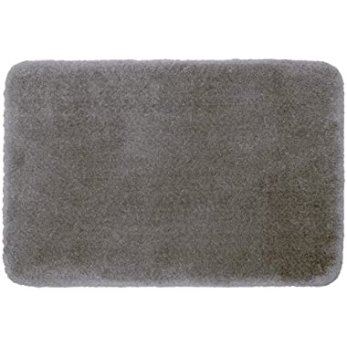 STAINMASTER TruSoft Luxurious Bath Rug, 17-By-24 Inch Cobble Stone Grey